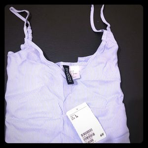 H&M striped tank top